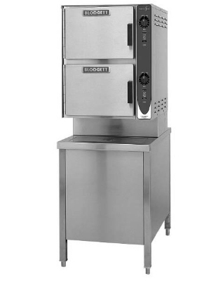 Blodgett 6G-SC NG Manual Control Convection Steamer, 24-in Cabinet Base, NG