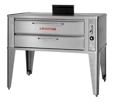 Blodgett 911P DOUBLE LP Double Pizza Deck Oven, LP