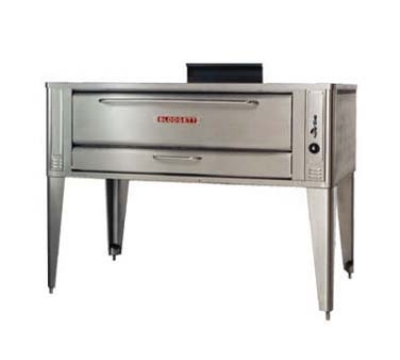 Blodgett 961P BASE NG Deck Type Gas Pizza Oven, (base only) 42 W x 32 D, (1) 7