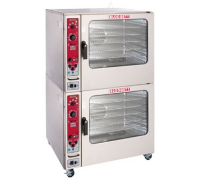 Blodgett BCX 14E DOUBL 2083 Combi Oven Steamer, Double Stacked, Glass Door, 208/3