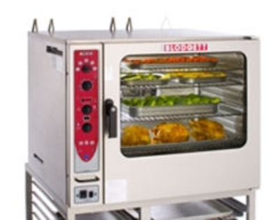 Blodgett BCX 14G DOUBL NG Combi Oven Steamer, Gas, Stacked, Capicity 14 pans, Glass Door, NG