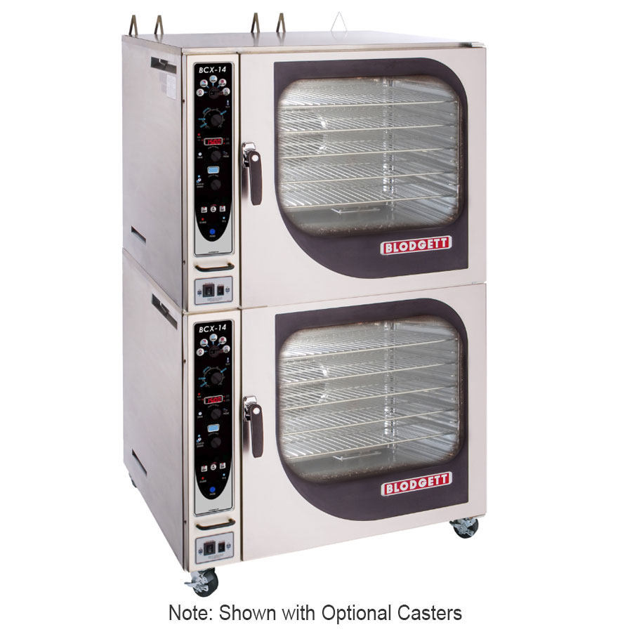 Blodgett BCX 14G DOUBL NG Double Full-Size Combi-Oven - Boiler Based, NG