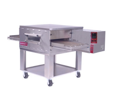 Blodgett Oven BG2136 BASE Single Deck Gas Conveyor Oven Base Only No Legs 18 in W Conveyor NG Restaurant Supply