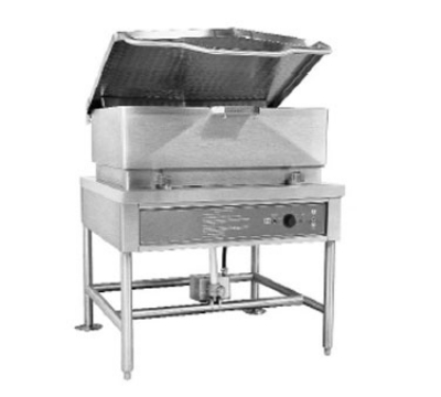 Blodgett BLP 40E 2203 Electric Braising Pan, 40 gal, Manual Controls, Power Lift, 220/3