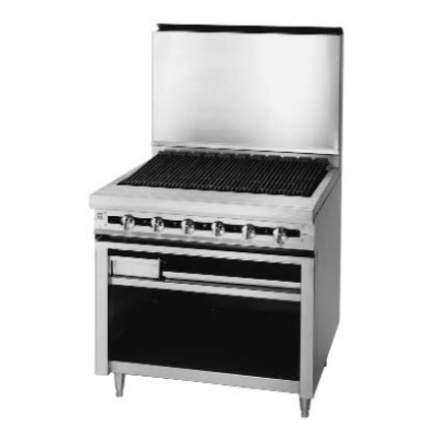 "Blodgett BP-36B LP 36"" Gas Range with Charbroiler, LP"