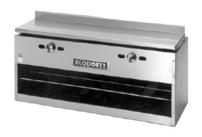 "Blodgett BPCM-48 48"" Infrared Burner Gas Cheese Melter, NG"