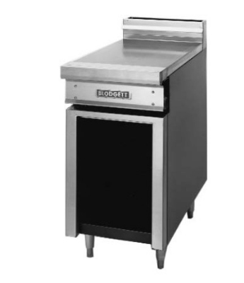 Blodgett BPP-12SD LP 12-in Standard Spreader Cabinet w/ Open Cabinet Base & Door, LP