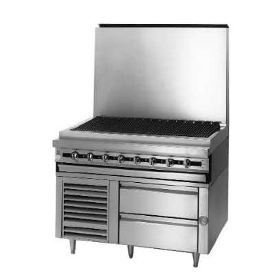 Blodgett BPRLH-04S-T-72 72-in Refrigerated 4-Drawer Base w/ Self-Contained Refrigeration