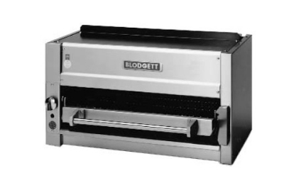 Blodgett BPSB-36WM NG 36-in Range Mount Salamander Broiler w/ Lift Out Broiler Grid, NG
