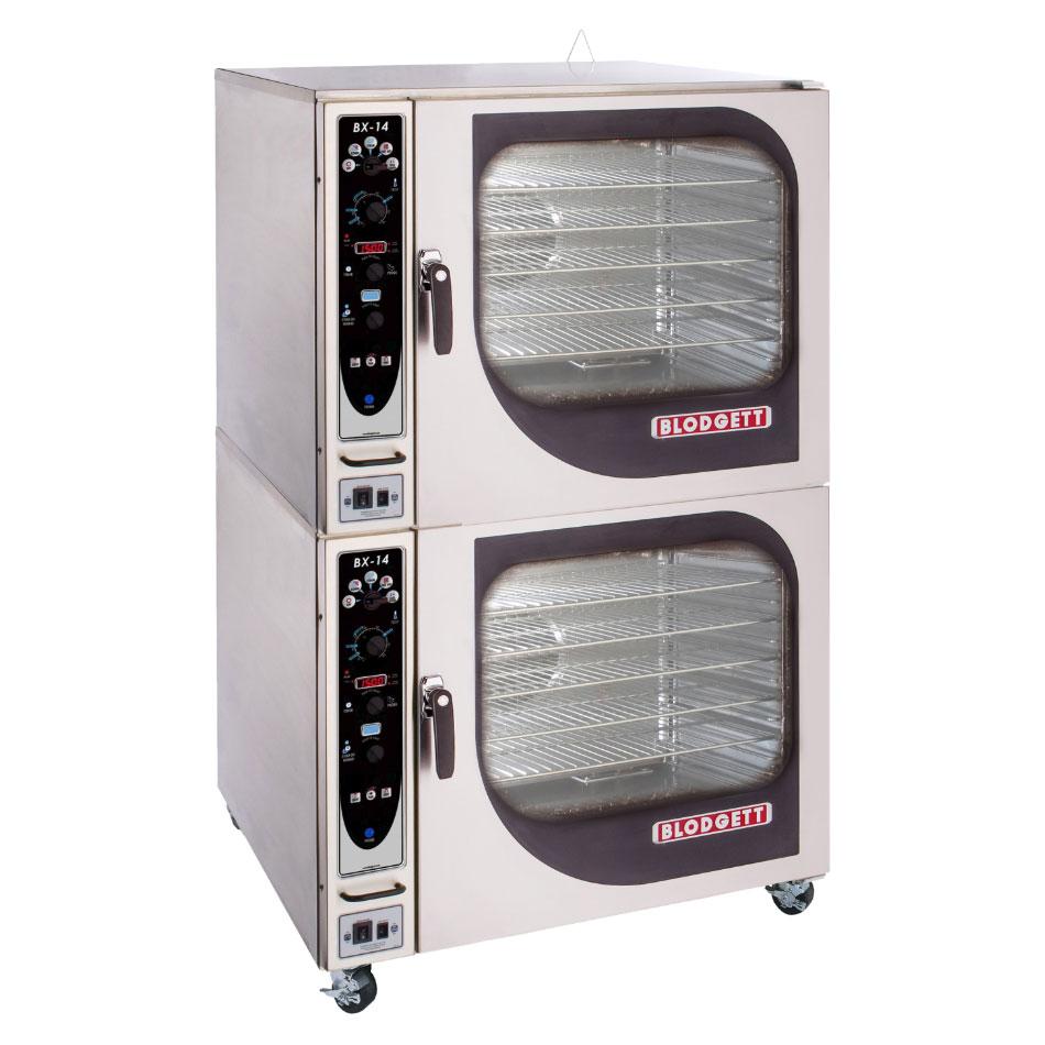 Blodgett BX-14EDOUBL 2083 Double Full-Size Combi-Oven, Boilerless, 208v/3ph