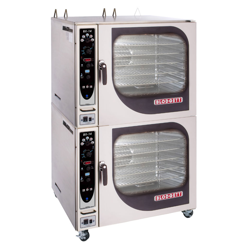Blodgett BX 14G DOUBL NG Double Full-Size Combi-Oven, Boilerless, NG