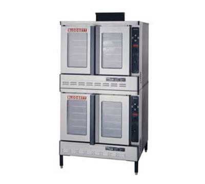 Blodgett DFG100DOUBLE Double Full Size Gas Convection Oven - LP
