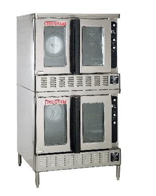 Blodgett DFG200DOUBLE Double Deep Depth Gas Convection Oven - NG