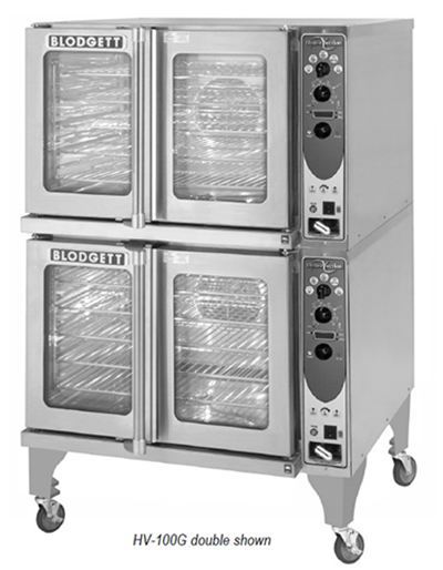 Blodgett HV-100GDOUBLE Double Full Size Gas Convection Oven - NG