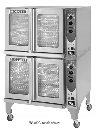 Blodgett HV-100GSINGLE Full Size Gas Convection Oven - NG