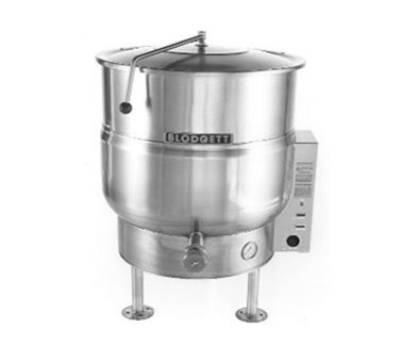 Blodgett Oven KLS 30E Electric Stationary Kettle 30 gallon Tri Legs Self Contained 480/3 Restaurant Supply
