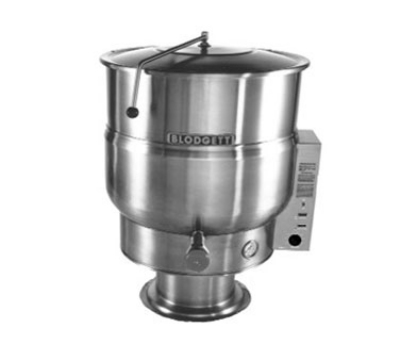 Blodgett Oven KPS 30E Electric Stationary Kettle 30 gal Self Contained Pedestal 240/3 Restaurant Supply