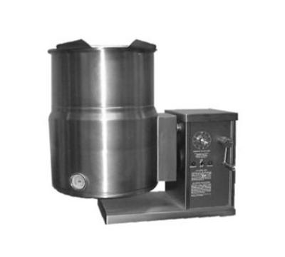 Blodgett Oven KTG 10E Countertop Tilting Kettle 10 gal Gear Box Tilt Stainless 208/1 Restaurant Supply