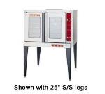 Blodgett MARKV-100SINGL Full Size Electric Convection Oven - 208v/3ph