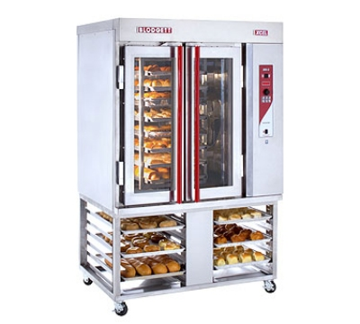 Blodgett XR8 GS/STAND-LP Mini Convection Oven w/Rotating Rack, Holds 8-Full Size Pans, LP