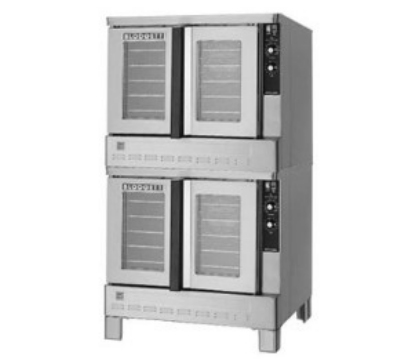 Blodgett ZEPH-100-GDOUBL Double Full Size Gas Convection Oven - NG