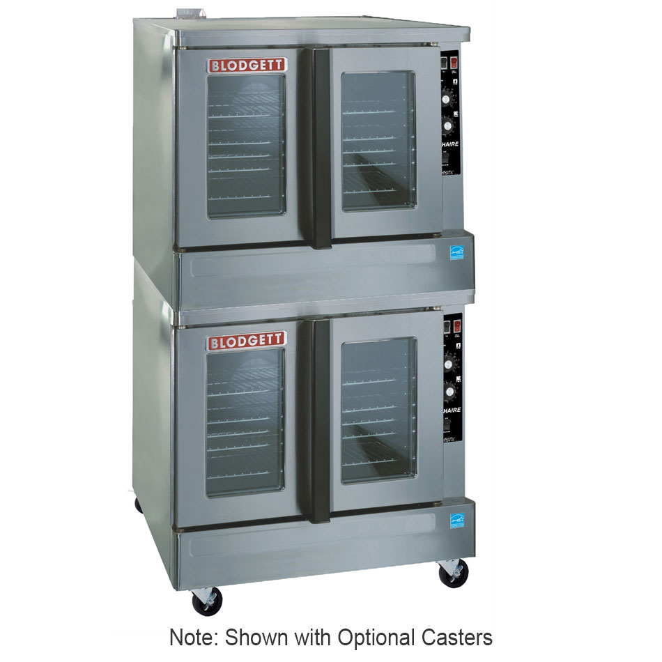 Blodgett ZEPHAIRE-200GESD Double Deep Depth Gas Convection Oven - NG