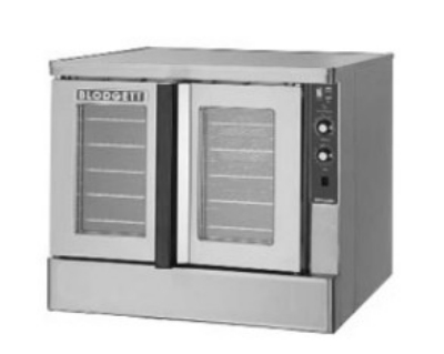 Blodgett ZEPH-200-EBASE Deep Depth Electric Convection Oven - 208v/1ph