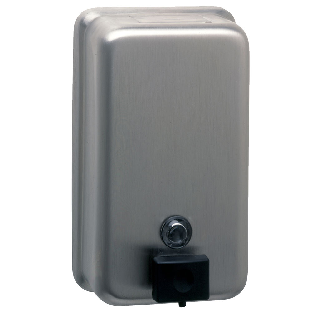Bobrick B2111 Classic Series Surface Mounted Soap Dispenser,