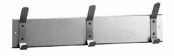 Bobrick B232X24 Hook Strip, 24 in Long