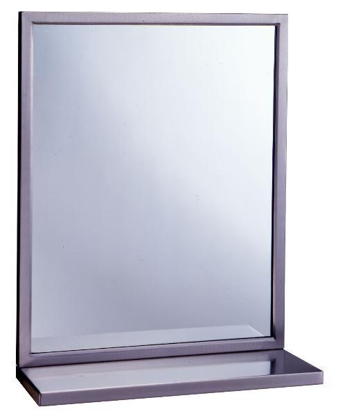 Bobrick B2921830 B-292 Series Welded Frame Glas
