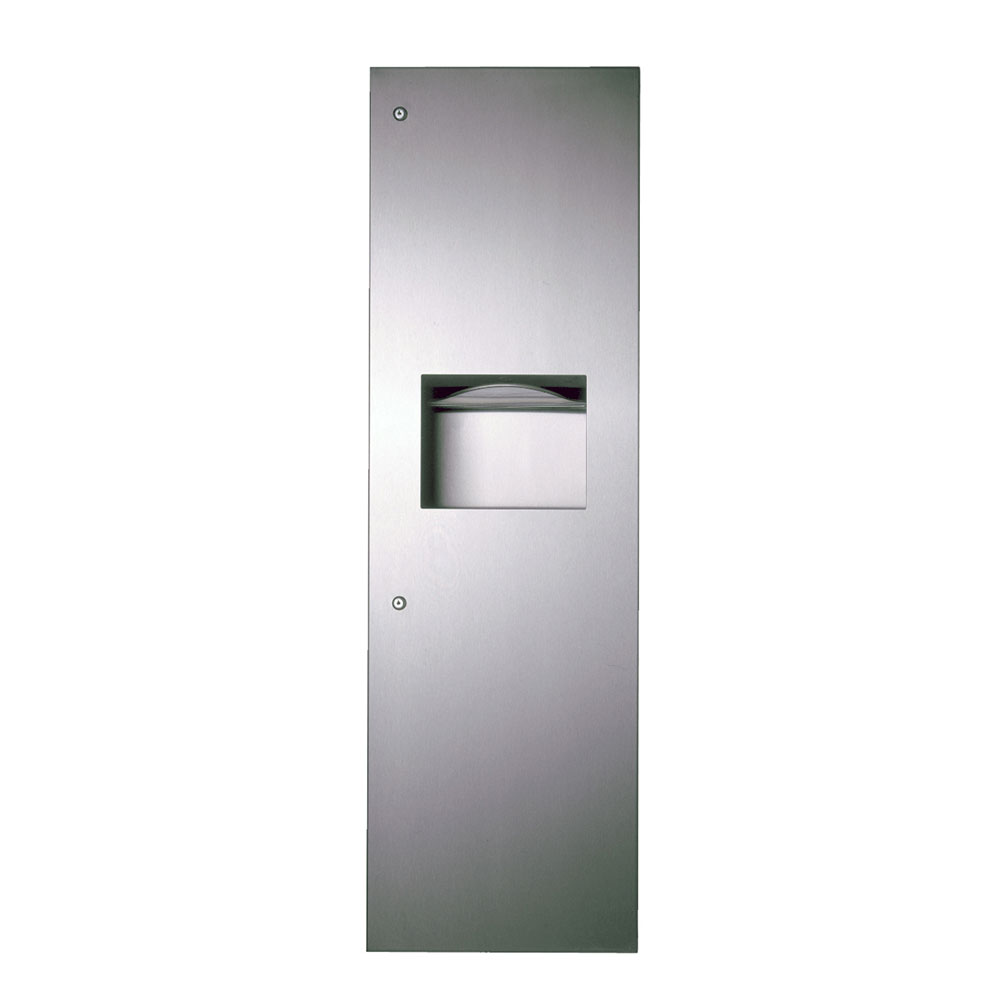 Bobrick B39003 TrimLine Series Paper Towel Dispenser / Waste Recepta