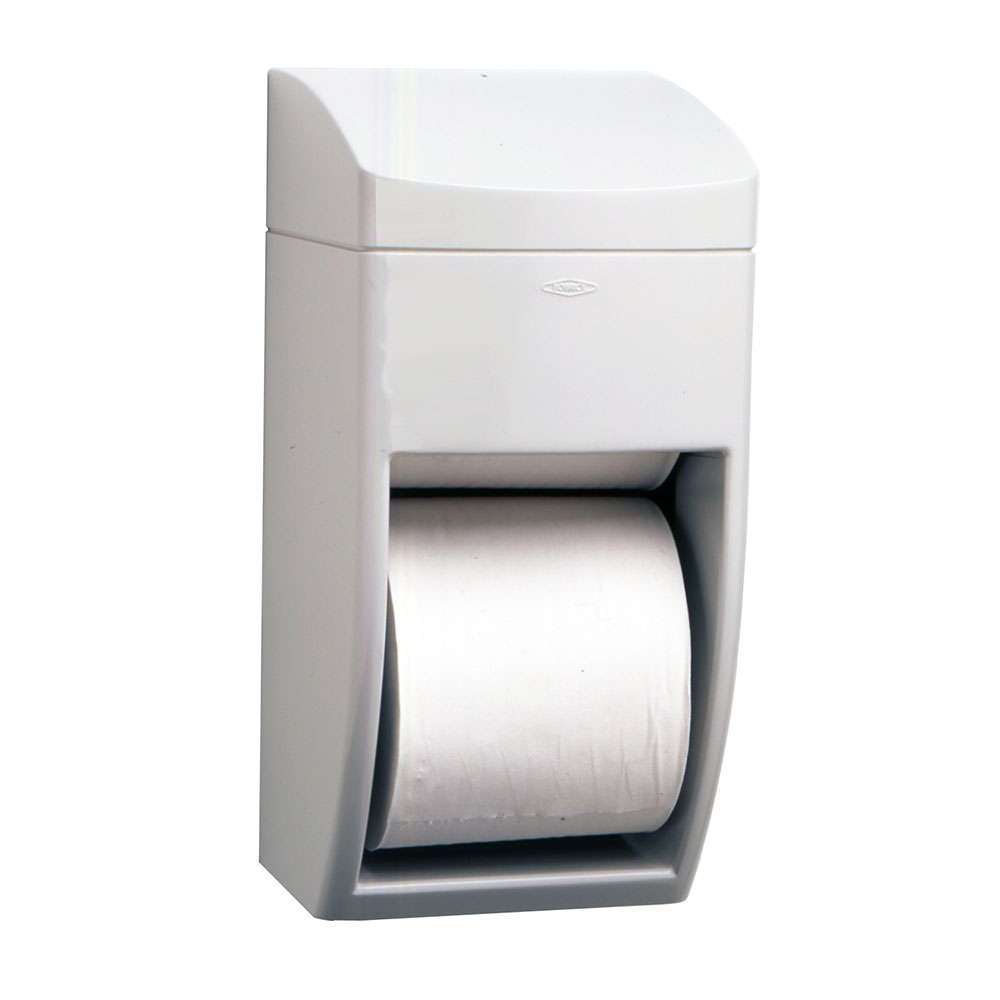 Bobrick B5288 Matrix Series Surface Mounted Multi-Roll Toilet Tissue Dispenser, Pla