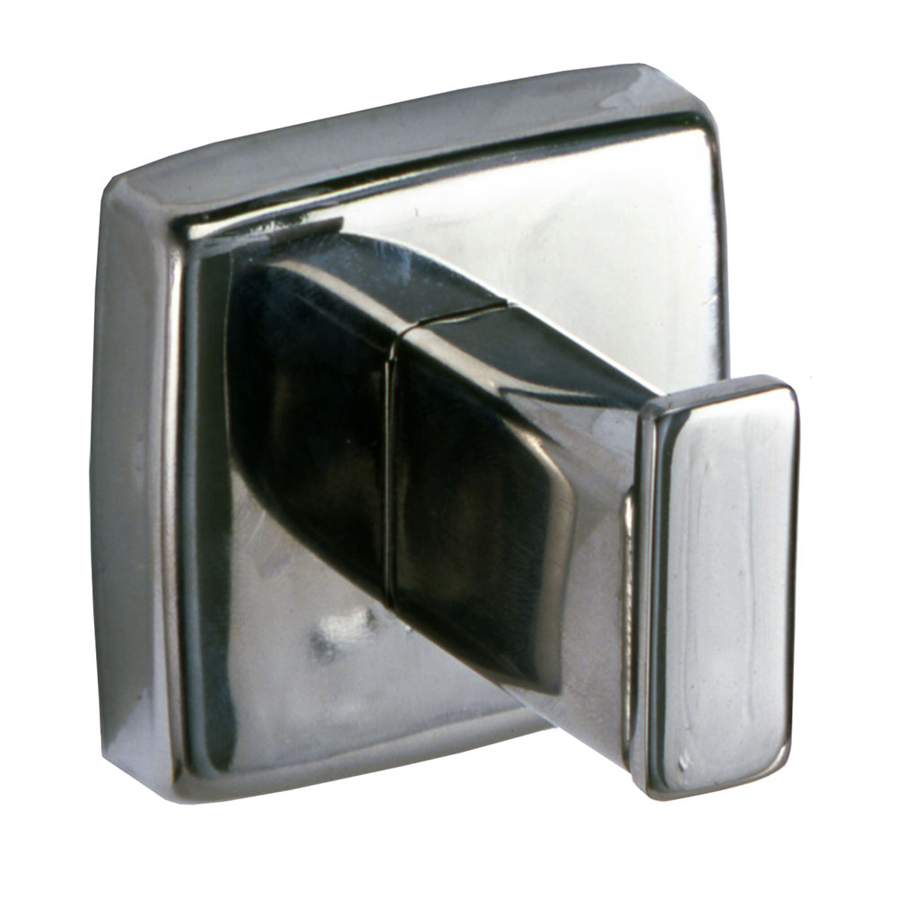 Bobrick B670 Surface Mounted Utility Hook, Polished Stainless