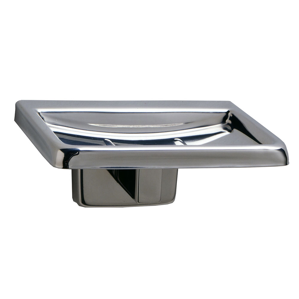Bobrick B-6807 Classic Series Surface Mounted Soap Dish,