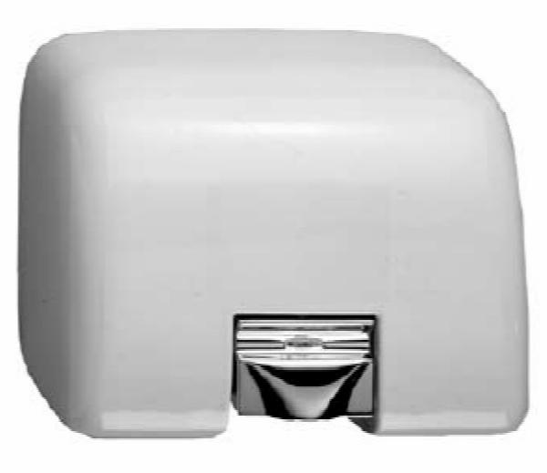 Bobrick B708115V AirGuard Surface Mounted Hand Dryer with Automatic Sensor, 115 V