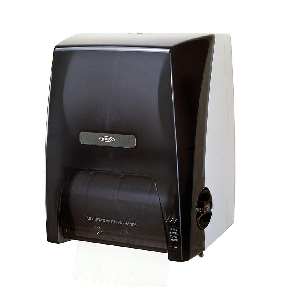 Bobrick B72860 Surface Mounted Roll Paper Towel Dispenser, Plastic