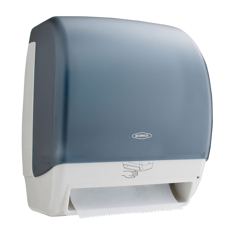 Bobrick B 72974 Surface Mounted Automatic Universal Roll Towel Dispenser, Plastic