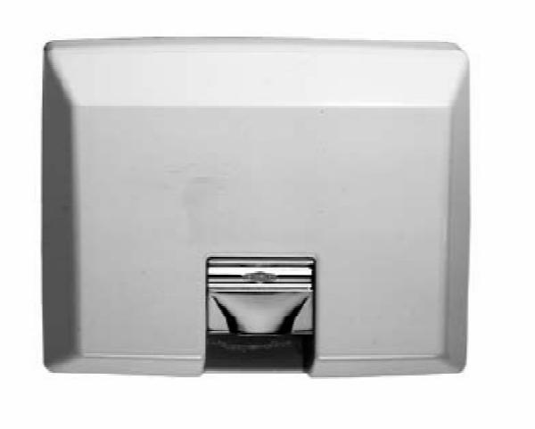 Bobrick B750230V AirCraft Recessed Hand Dryer with Automatic Sensor, 208-240 V