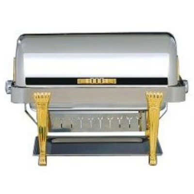 Bon Chef 14041 Rectangular 2-Gallon Chafer w/ Copper Plate, Aurora