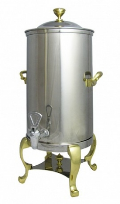 Bon Chef 49003 3-Gallon Insulated Coffee Urn Server, Roman