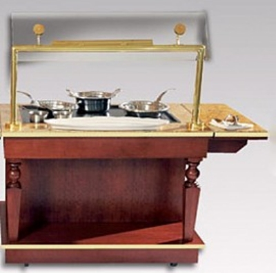 Bon Chef 50171 48-in Holding and Warming Cart