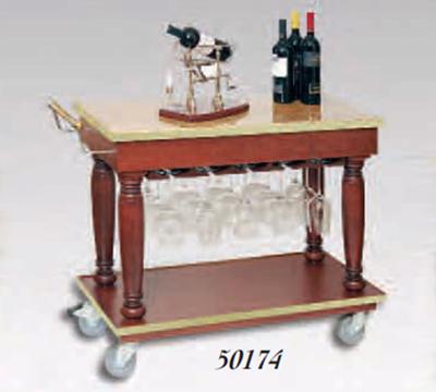Bon Chef 50174 38-in Wine Beverage Cart