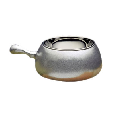 Bon Chef 5050 2.13-qt Fondue Pot, Pewter-Glo