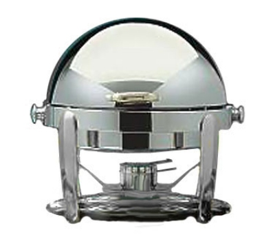 Bon Chef 10001CH 21-in Round Manhattan Non-Dripless Chafer w/ Vented Lid, Chrome