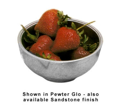 Bon Chef 15002BP 12-oz Sugar Bowl, Aluminum/Pewter-Glo
