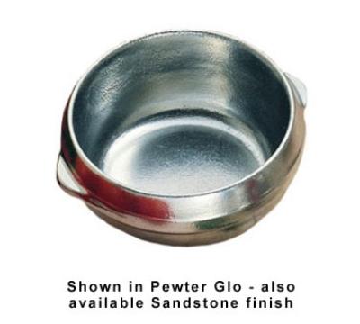 Bon Chef 3018P 15-oz Soup Bowl, Aluminum/Pewter-Glo