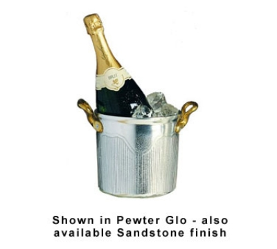 Bon Chef 4036S BLKS 3.5-qt Champagne Ice Bucket, Aluminum/Black Speckled
