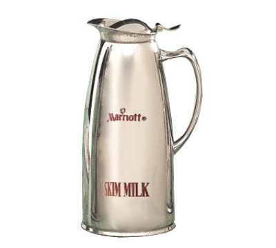 Bon Chef 4052MS 1-qt Insulated Pitcher Server w/ Mar