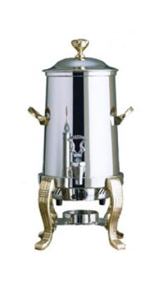 Bon Chef 41001C 2-Gallon Coffee Urn Server, Single Wall, Stainless Steel/Chrome