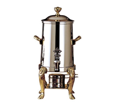 Bon Chef 48101 2-Gallon Coffee Urn Server, Solid Fuel, Lion